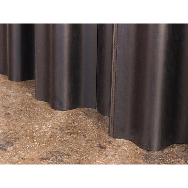 Eames Ebonized Folding Wood Screen Fws-6 For Sale - Image 9 of 10