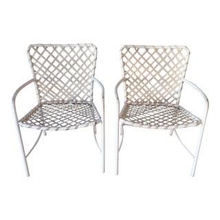 Brown Jordan Side Chairs - A Pair