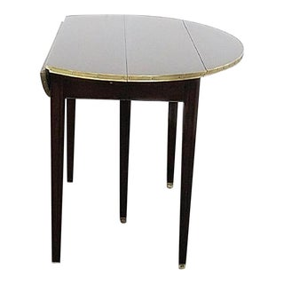 Jansen Style Drop Leaf Dining Table