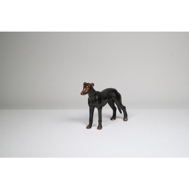 1920s Solid Copper Greyhound - Image 3 of 5
