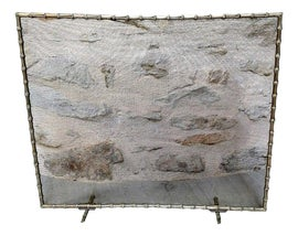 Image of Metal Fireplace Screens and Fenders