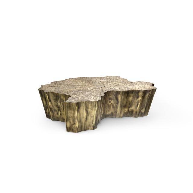 Eden Patina Center Table From Covet Paris For Sale - Image 4 of 7