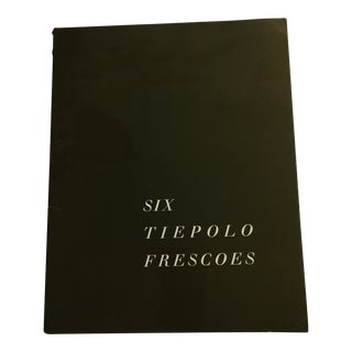 1966 Six Tiepolo Frescoes in Vicenza Book For Sale
