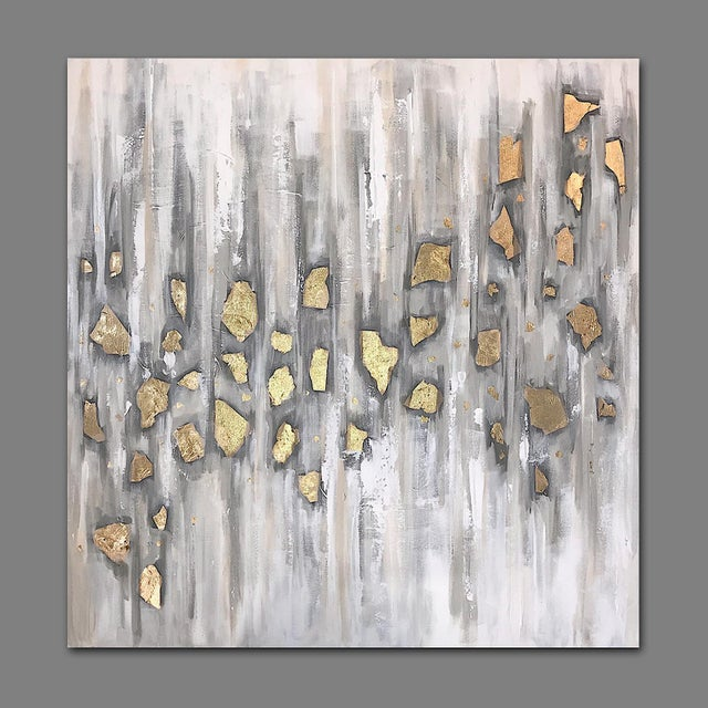 2010s 'Midas' Original Abstract Painting by Linnea Heide For Sale - Image 5 of 10