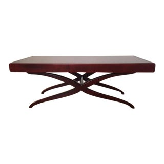 1990s Modernist Art-Deco-Inspired Dialogica Coffee Table