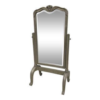 1970s Neoclassical Style Cheval Mirror For Sale
