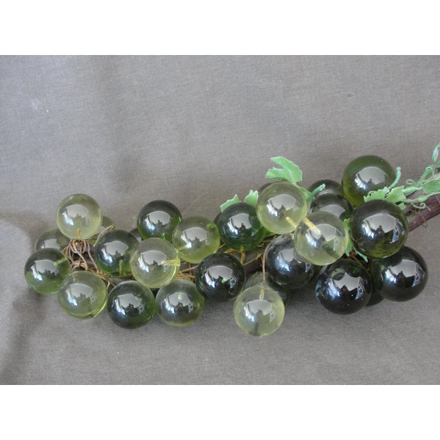 Mid-Century Green Lucite Grapes - Image 3 of 6