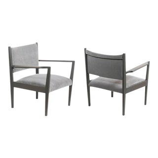 Jens Risom Armchairs 1950 - a Pair For Sale