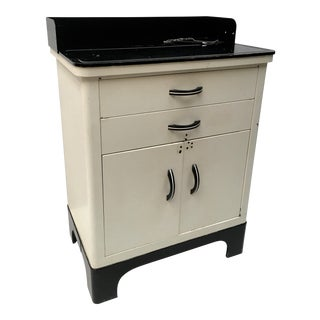 vintage used art deco storage cabinets and cupboards chairish. Black Bedroom Furniture Sets. Home Design Ideas