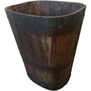 French Antique Grape Barrel