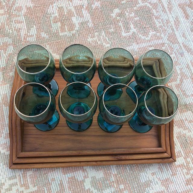 1970s Danish Modern Teak Wood Nesting Trays - Set of 3 For Sale - Image 10 of 13
