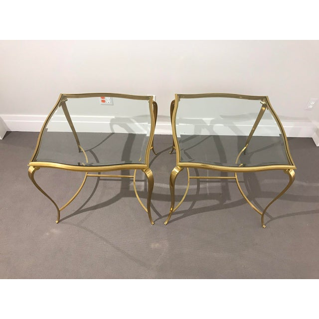 This pair of side tables was featured in Fifi and Coco's ballroom entrance for the 2018 Designer Showhouse at the Charles...