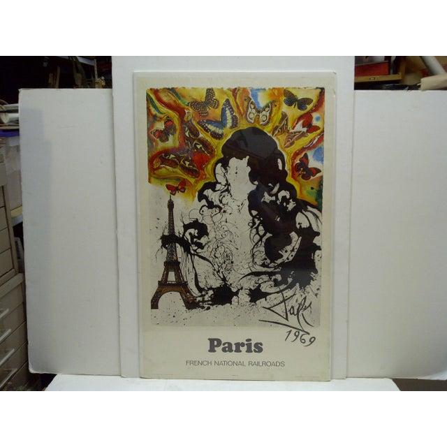 Vintage Salvador Dali Paris Poster