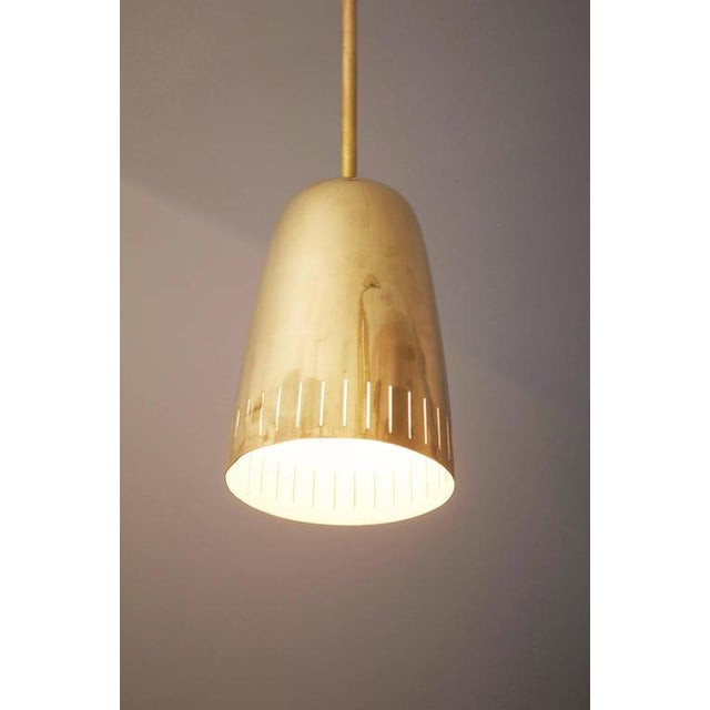 1950s Mid-Century Brass Hanging Lamp from Kalmar Vienna For Sale - Image 5 of 9