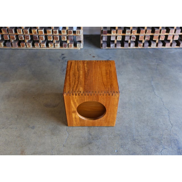 1960s Peter Hvidt for Richard Nissen Cube Nesting Tables - a Pair For Sale In Los Angeles - Image 6 of 12