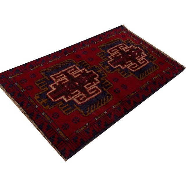 "Apadana - Vintage Persian Balouch Rug - 2'9"" x 4'7"" - Image 4 of 4"