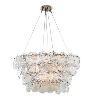 2010s Venetian Prelude Tiered Chandelier For Sale