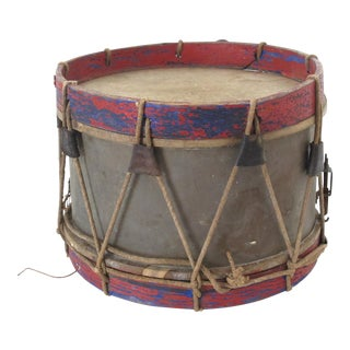18th-Century Antique Drum