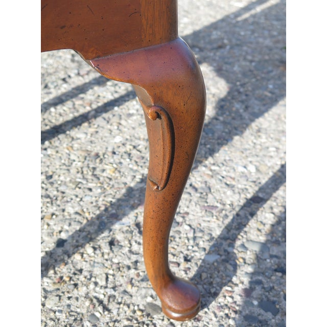 1980s Vintage Henredon 18th C. Collection Walnut Dining Chairs-Set of 4 For Sale In Philadelphia - Image 6 of 9