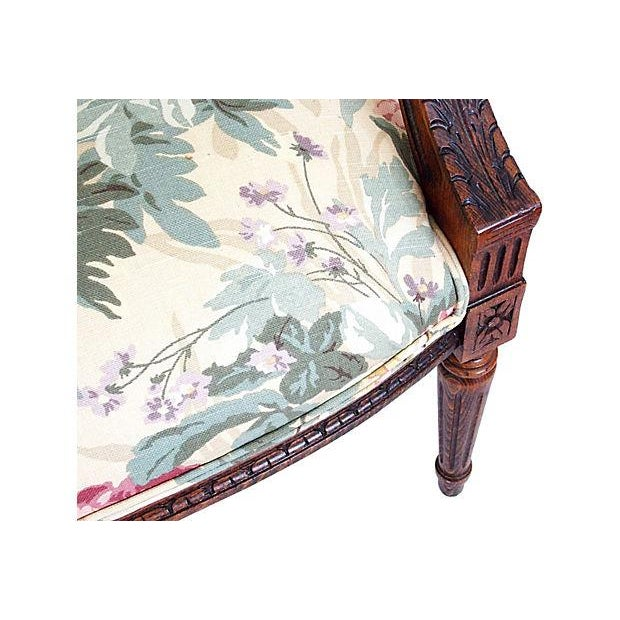 Louis XVI Style Occasional Chair - Image 5 of 7
