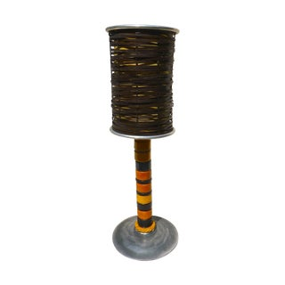 Trading Bead Table Lamp For Sale