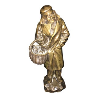 1930s French Bronze Sculpture by Pierre Secarel