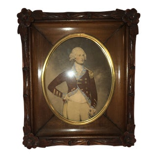 Early 20th Century Vintage Carved Picture Frame For Sale