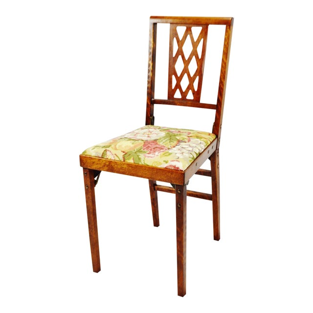 Vintage Leg O Matic Folding Chair For Sale