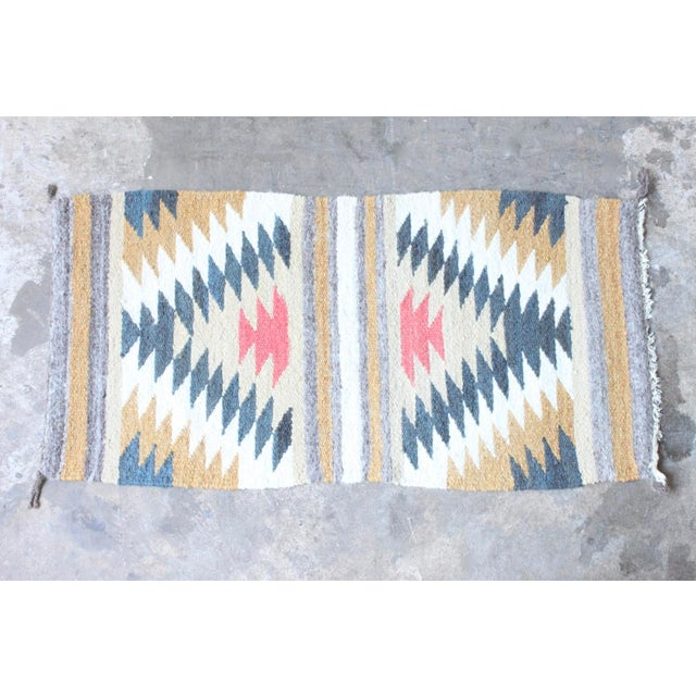 "Tribal Wool Accent Rug - 1'7"" X 3'3"" - Image 2 of 3"
