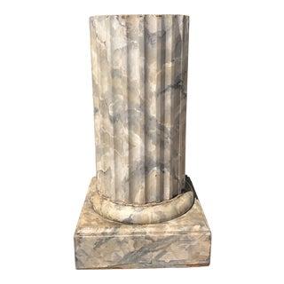 Vintage Faux Marbleized Column