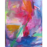"""Image of """"Uluru"""" by Trixie Pitts Extra-Large Abstract Expressionist Oil Painting For Sale"""