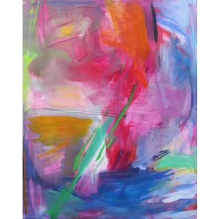 """Uluru"" by Trixie Pitts Extra-Large Abstract Expressionist Oil Painting For Sale"