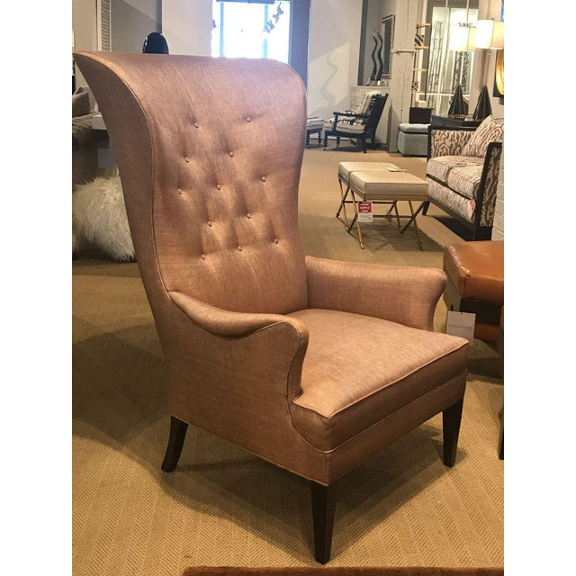 Hickory Chair Furniture Company Hickory Chair Modern Bird Wing Chair For Sale - Image 4 of 7
