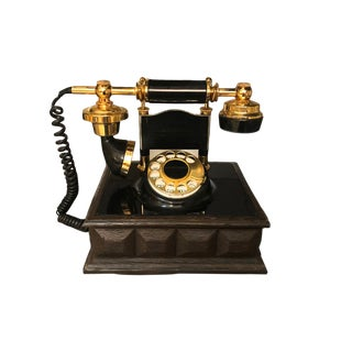 Decotel European Style Mid Century Modern Rotary Phone For Sale