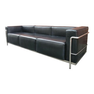 Le Corbusier Style Sofa For Sale