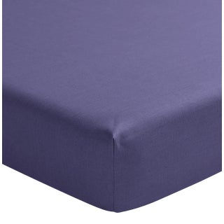 Alexandre Turpault Nouvelle Vague Fitted Sheet, Purple, Full/Double For Sale