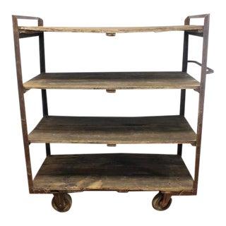 Antique Industrial Shelves