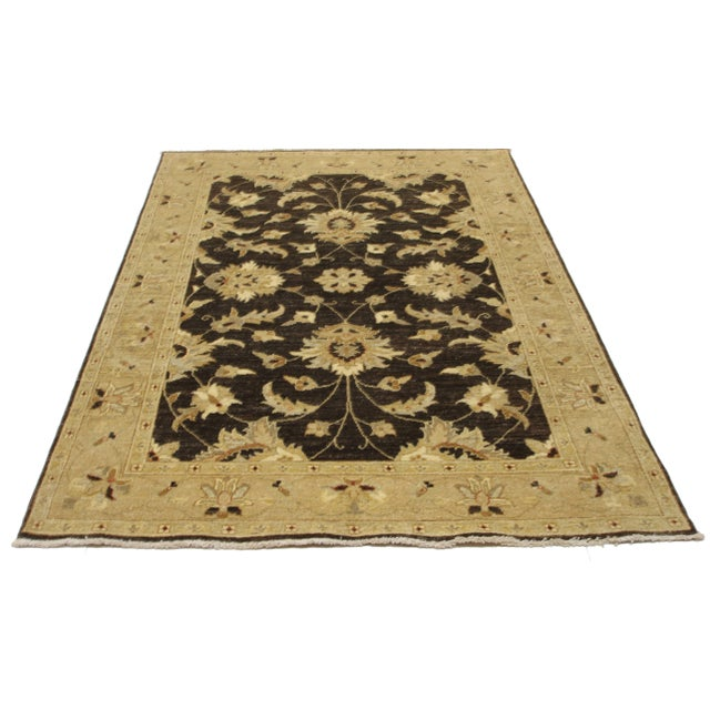 RugsinDallas Fine Hand Knotted Wool Persian Style Rug For Sale