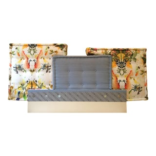 Vintage Roche Bobois Mah Jong Headboard For Sale