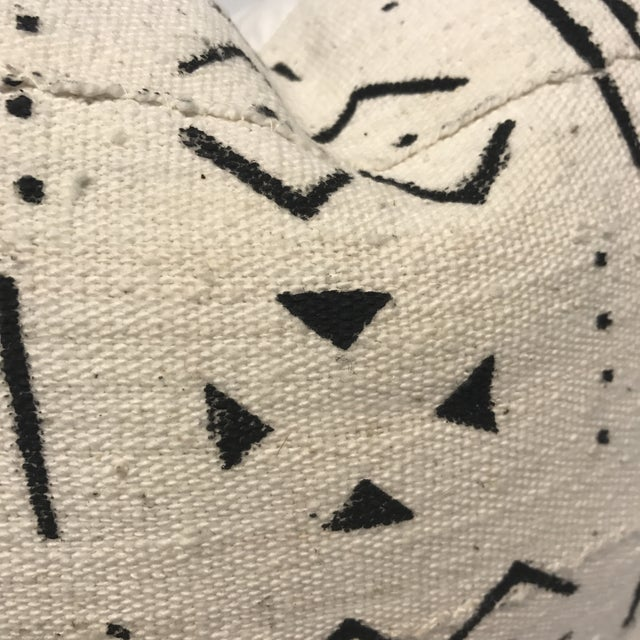 African Mud Cloth Pillow Cover - Image 3 of 4