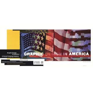 1989 April Greiman 'Graphic Design in America' Multicolor Usa Offset Lithograph For Sale