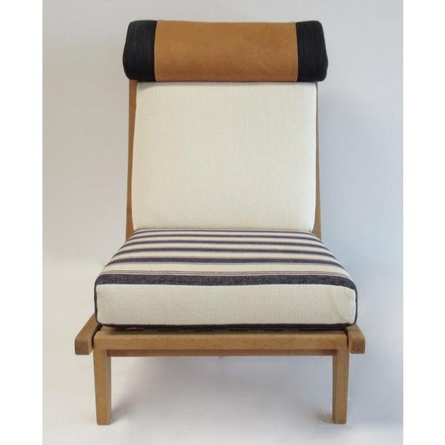 "1960s Circa 1960's Hans J. Wegner Denmark ""Getama"" Lounge Chairs- a Pair For Sale - Image 5 of 13"