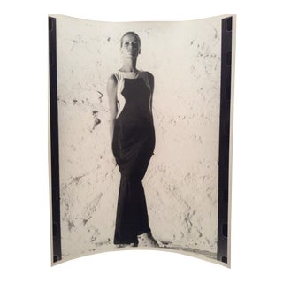 1960s Original Vintage Bert Stern Verushka Gelatin Silver Photo For Sale