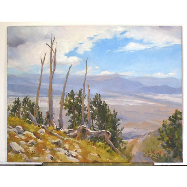 Ruby Mountain Valley Painting - Image 2 of 5