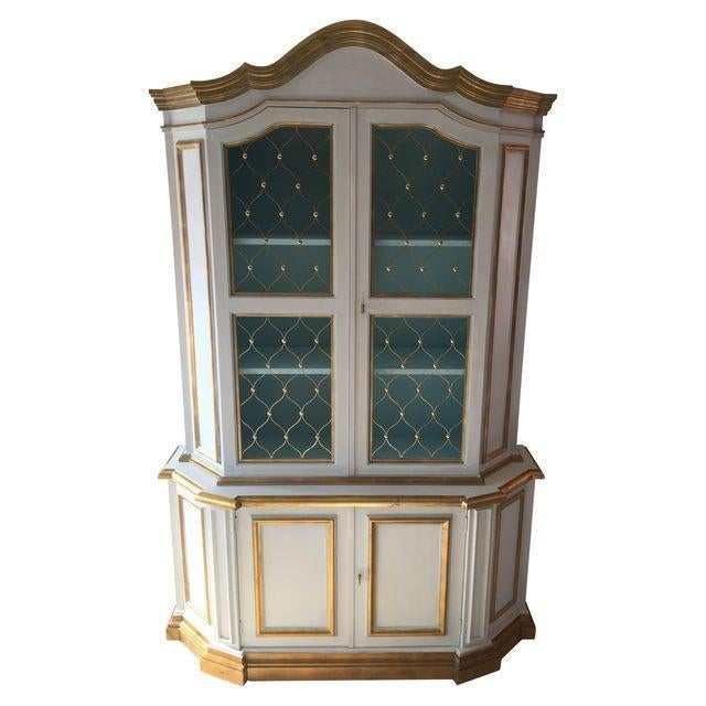 French Painted Cabinet - Image 1 of 3