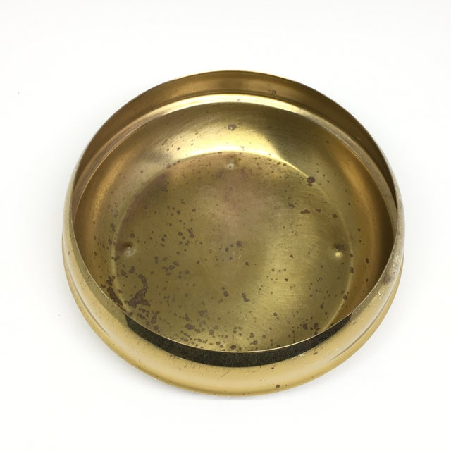 Vintage Brass Footed Bowl/Planter For Sale - Image 5 of 8