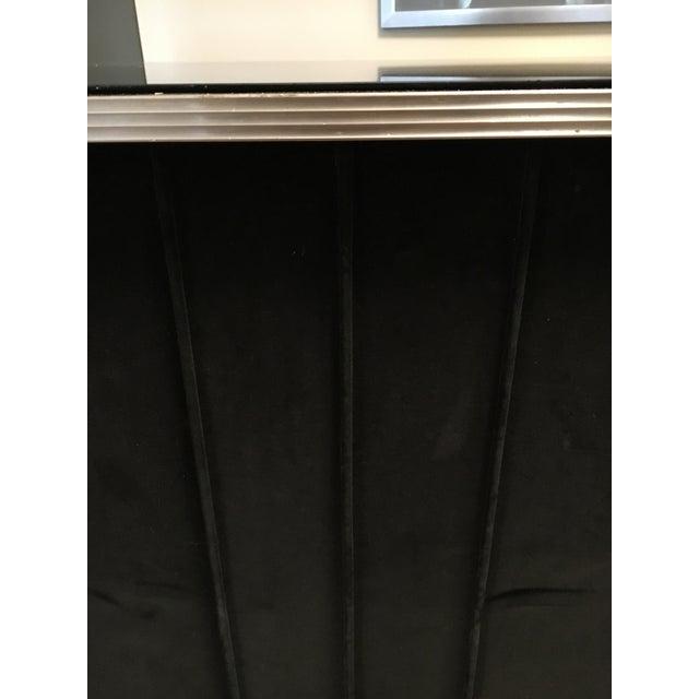 Art Deco Black Velvet Bar - Image 4 of 6