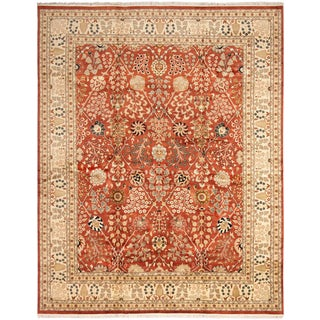 """Afghan Hand-Knotted Rug-12'1"""" X 15'4"""" For Sale"""