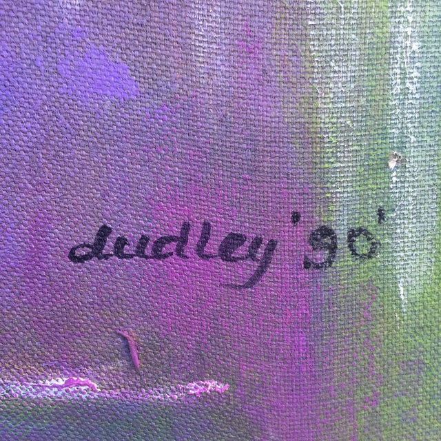 Charles Dudley Abstract Acrylic on Canvas - Image 9 of 11