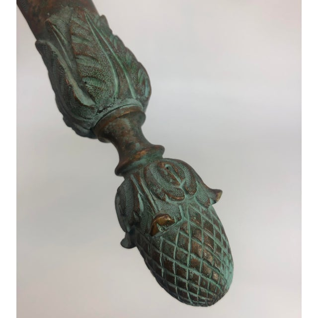 Bronze Bronze Sconce Wall Light Antique For Sale - Image 8 of 11